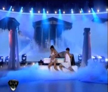 ฉาว! ผู้เข้าแข่งขันเต้นอาร์เจนตินา เปลื้องผ้ากลางรายการ